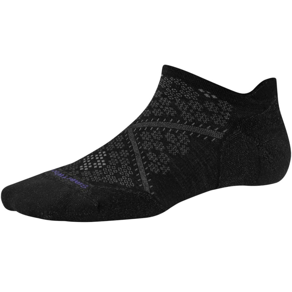 SMARTWOOL Women's PhD Run Light Elite Micro Socks - BLACK
