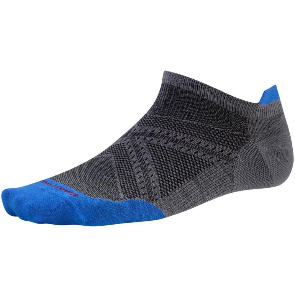 SMARTWOOL Men's PhD Run Ultra Light Micro Socks - GRAPHITE 374