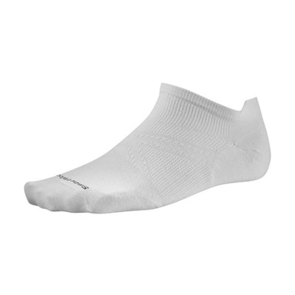 SMARTWOOL Men's PhD Run Ultra Light Micro Socks - WHITE 122