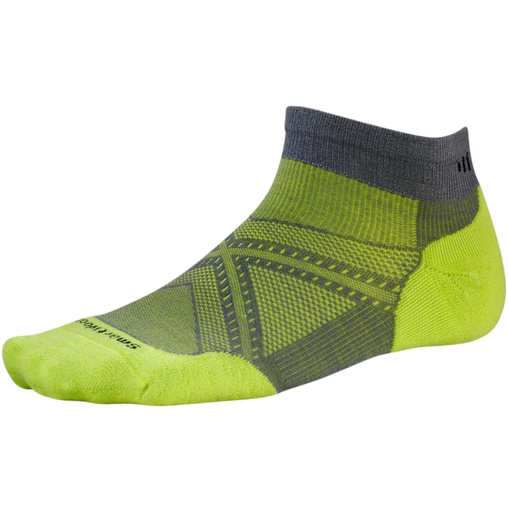 SMARTWOOL Men's PhD Run Light Elite Low-Cut Socks - GRAPHITE-170