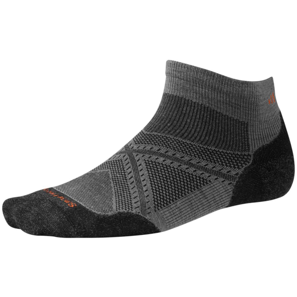 SMARTWOOL Men's PhD Run Light Elite Low-Cut Socks - GRAPHITE 018