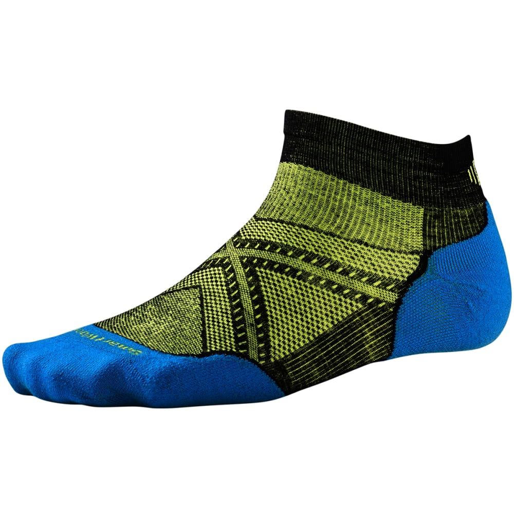 SMARTWOOL Men's PhD Run Light Elite Low-Cut Socks M