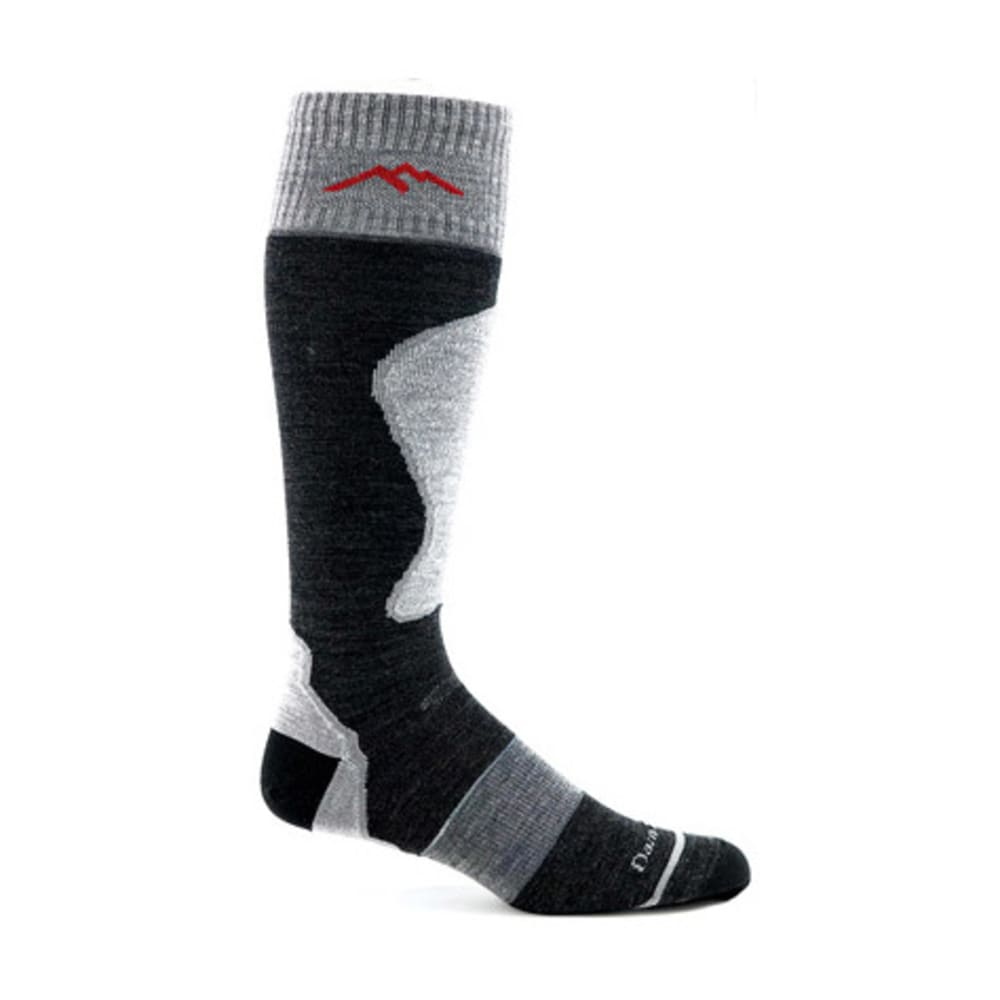 DARN TOUGH Padded Ultralight Ski Socks - CHARCOAL