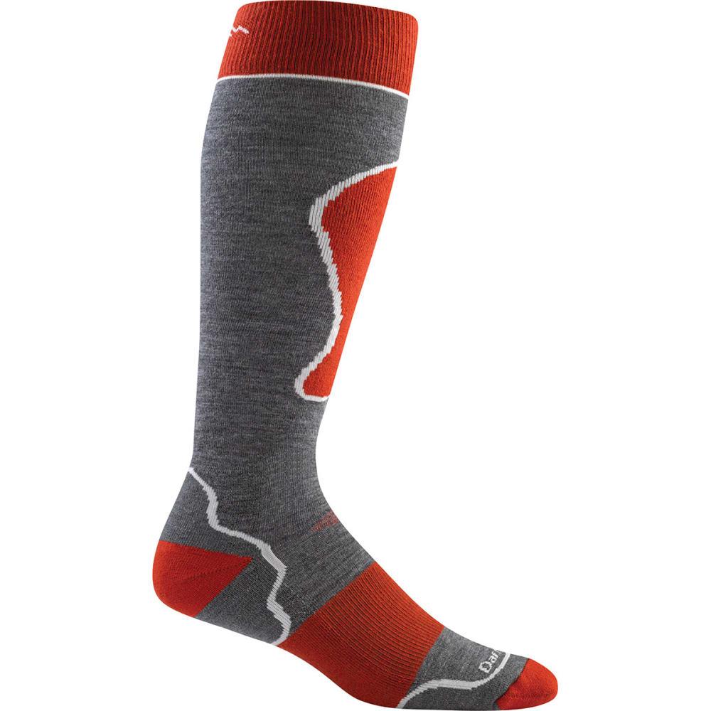 DARN TOUGH Padded Ultralight Ski Socks - GREY/RED