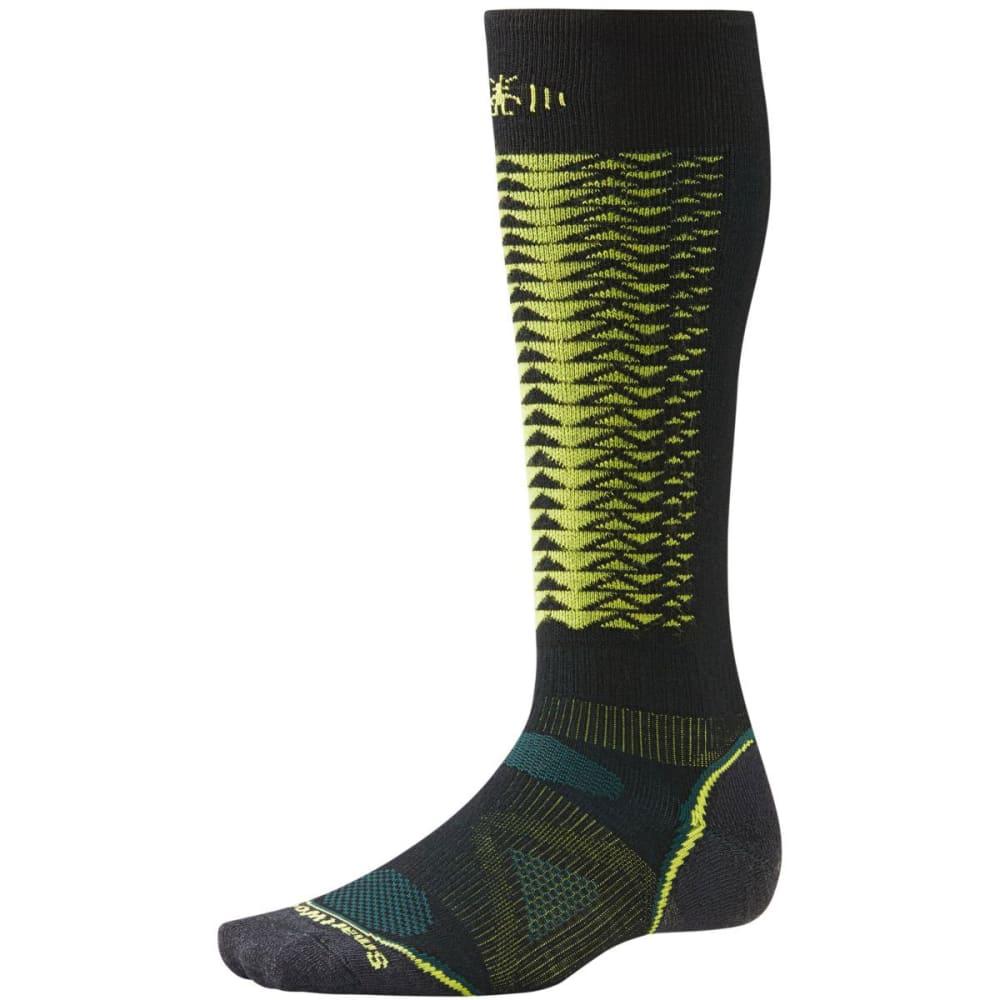 SMARTWOOL Men's PhD Downhill Racer Socks - BLACK