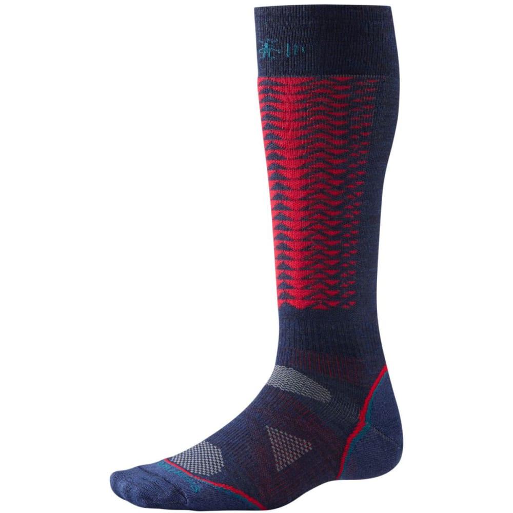 SMARTWOOL Men's PhD Downhill Racer Socks - NAVY
