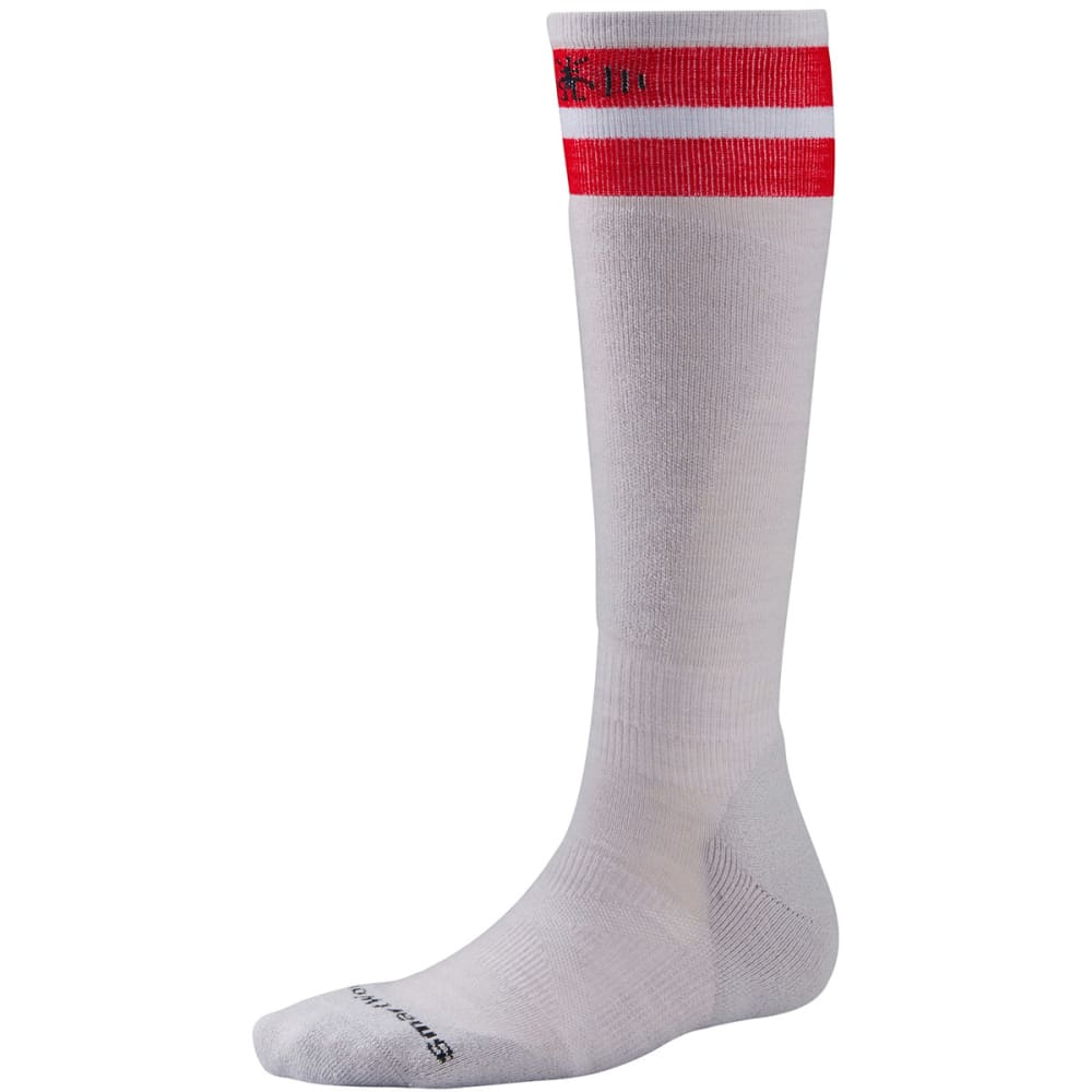 SMARTWOOL PhD Slopestyle Tube Socks - SILVER