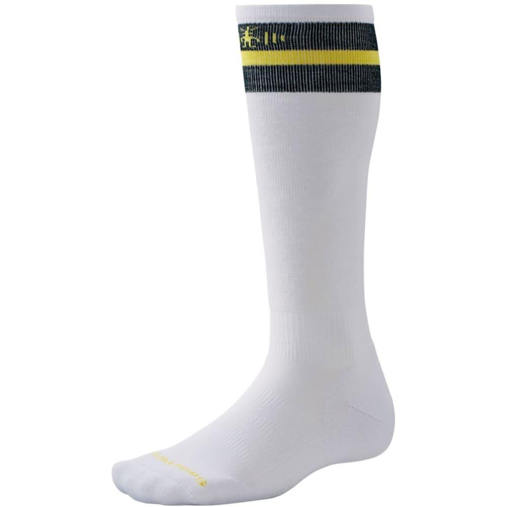 SMARTWOOL PhD Slopestyle Tube Socks - WHITE