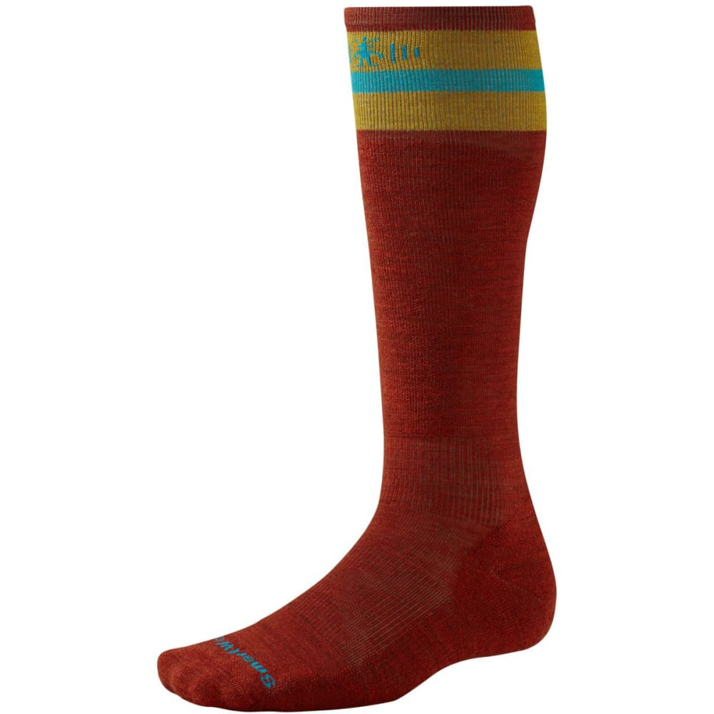 SMARTWOOL PhD Slopestyle Tube Socks - MOAB RUST