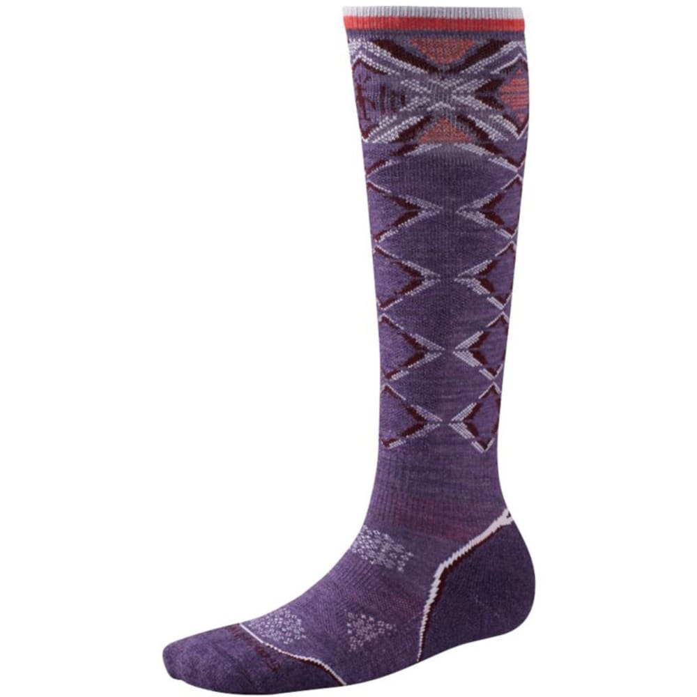 Smartwool Women's PHD Ski Light Socks - DESERT PURPLE