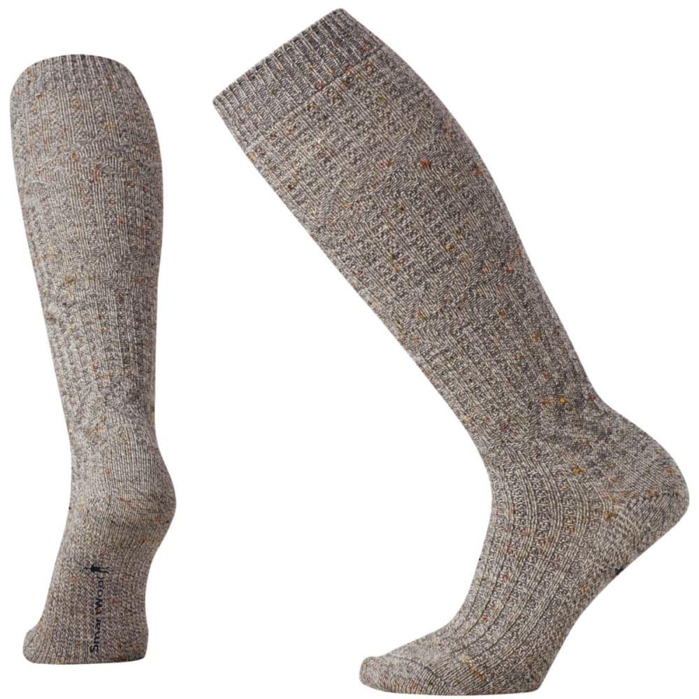 SMARTWOOL Women's Wheat Fields Knee-High Socks - MED GRY-052