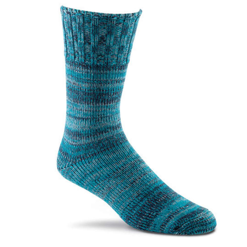 FOX RIVER Men's Free Feed Ragg Wool Socks - TURQUOISE