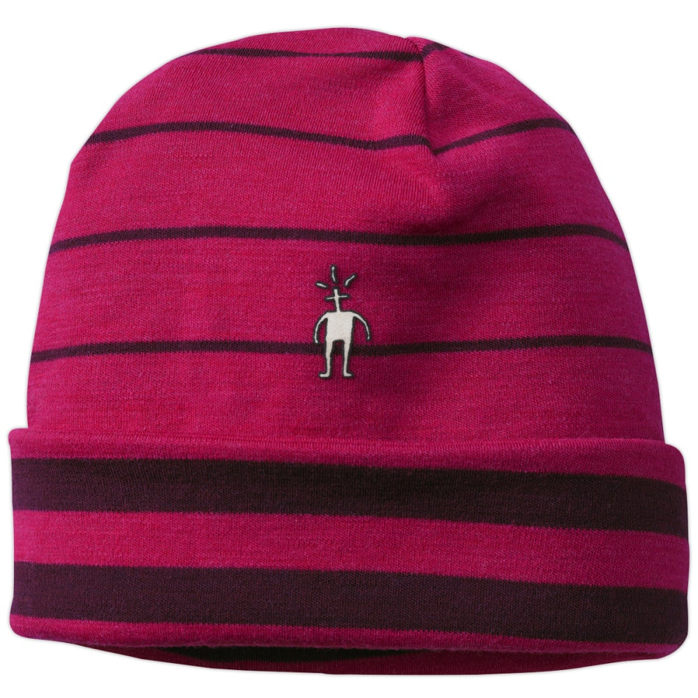 SMARTWOOL Reversible Pattern Cuffed Beanie - PERSIAN RED