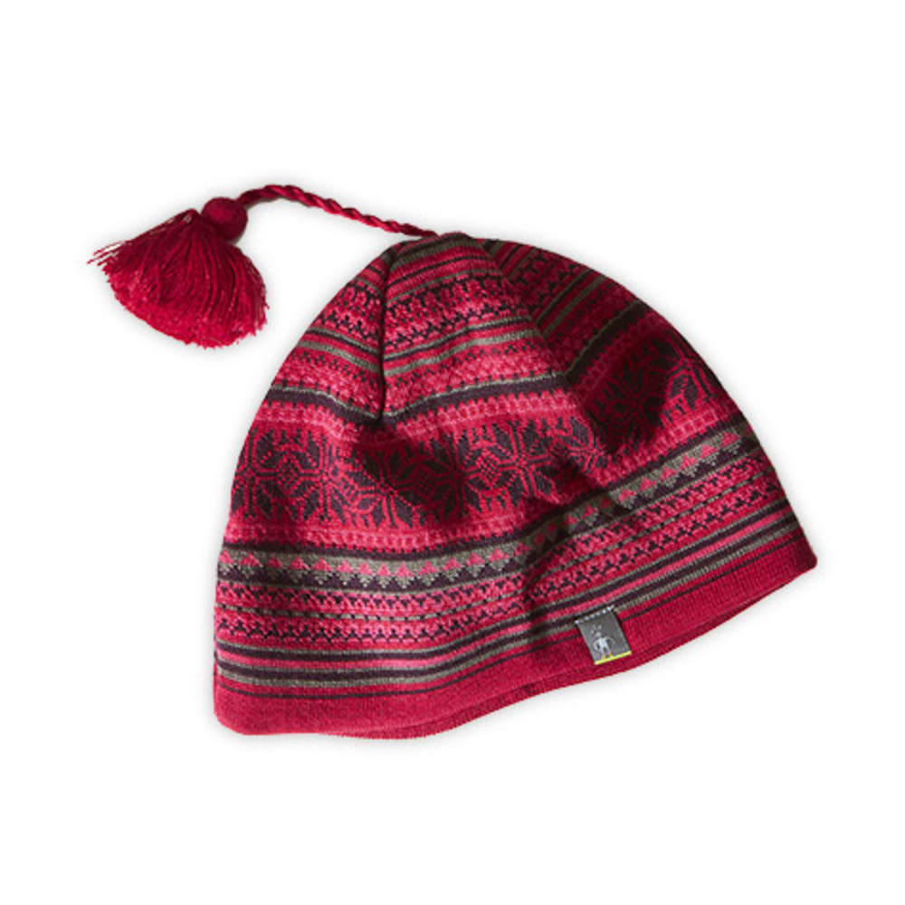 SMARTWOOL Powder Day Hat - PERSIAN RED