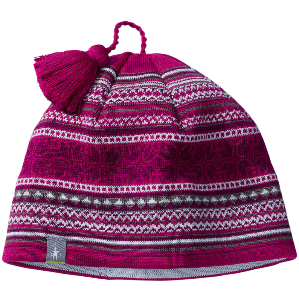 SMARTWOOL Powder Day Hat - BERRY