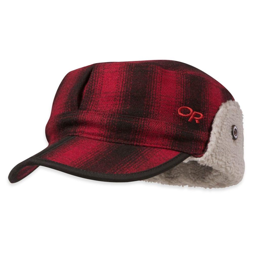 OUTDOOR RESEARCH Men's Yukon Cap - REDWOOD/BLACK