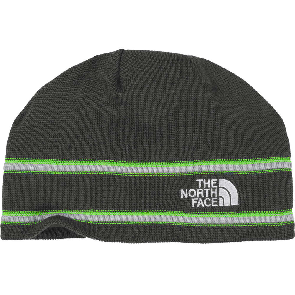 THE NORTH FACE Logo Beanie - ASPHALT GREY
