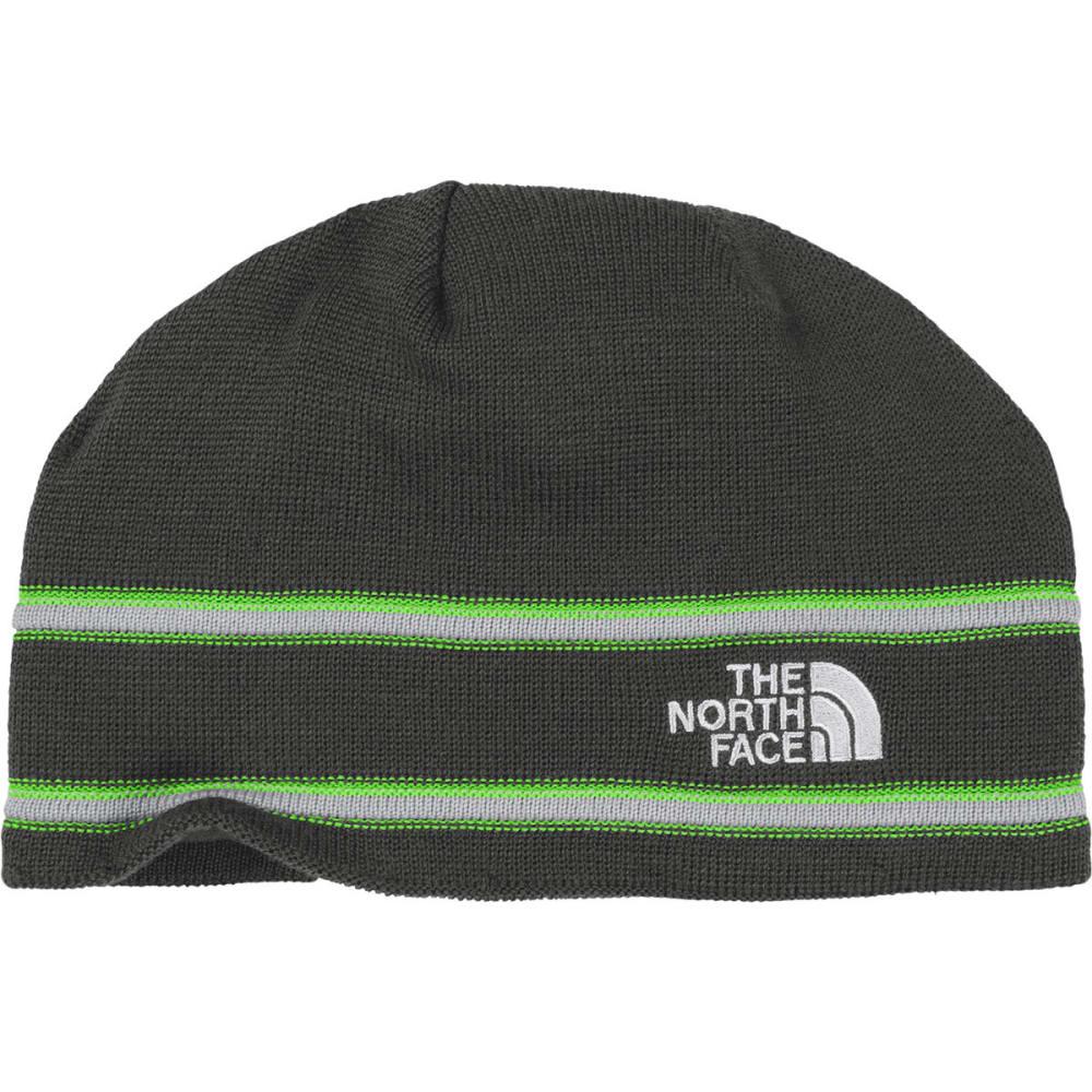 THE NORTH FACE Logo Beanie - ASPHALT GREY