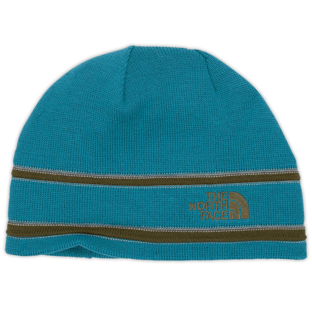 THE NORTH FACE Logo Beanie - BAJA BLUE