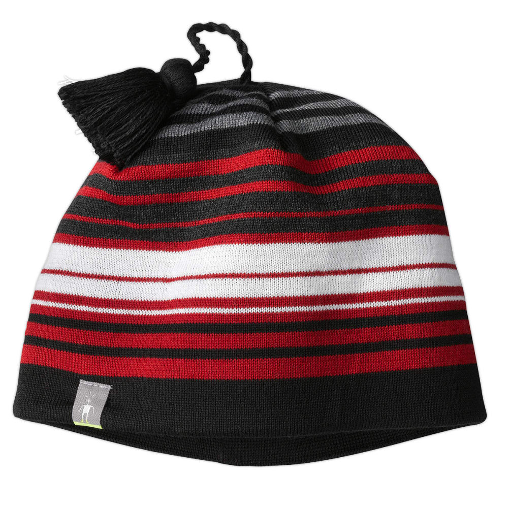 SMARTWOOL Straightline Hat - BRIGHT RED