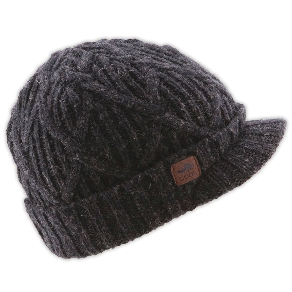 COAL The Yukon Brim, Black - BLACK
