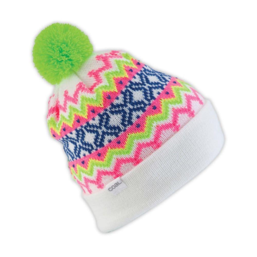 COAL The Winters Hat, White - WHITE