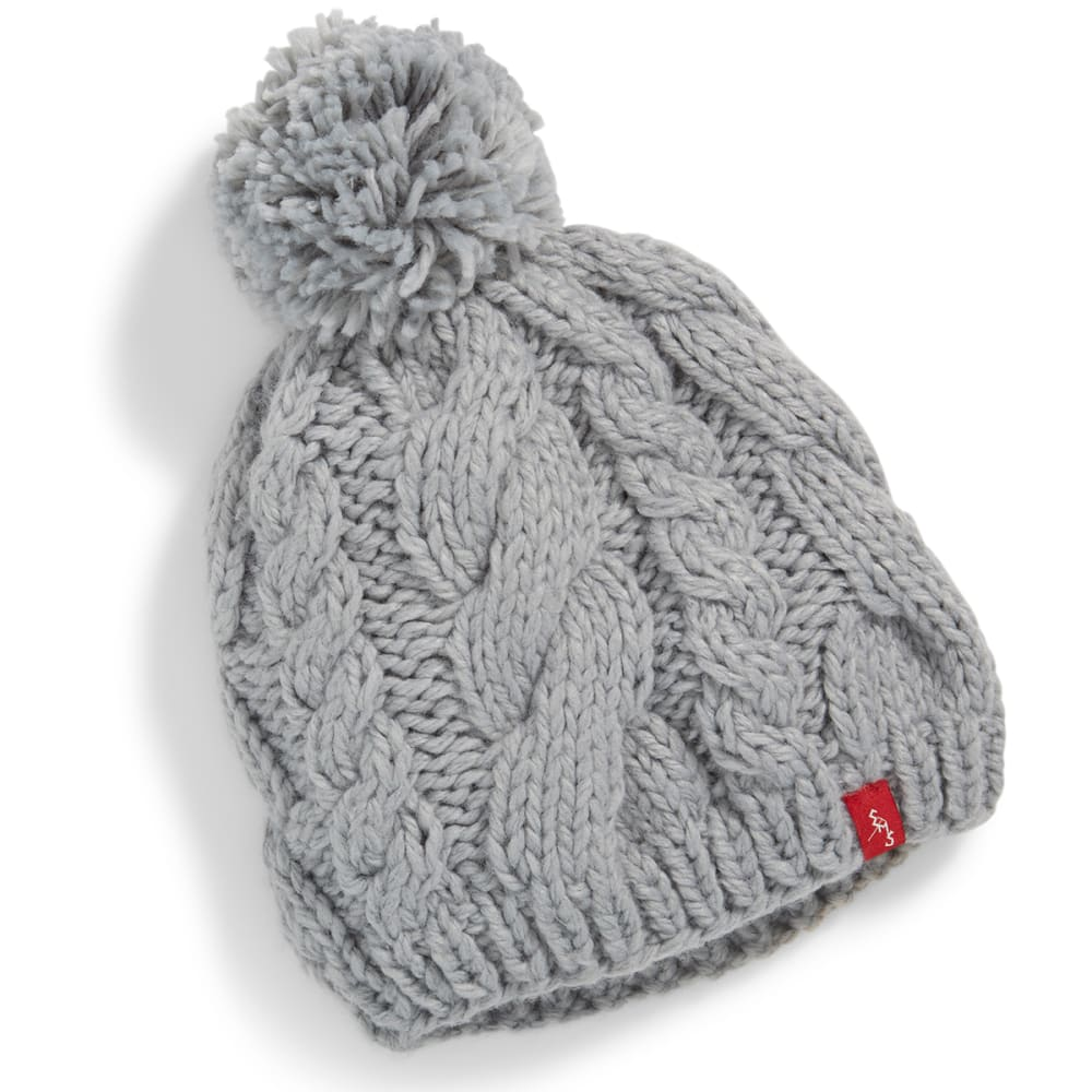 EMS® Cable Knit Pom Pom Beanie - HIRIS