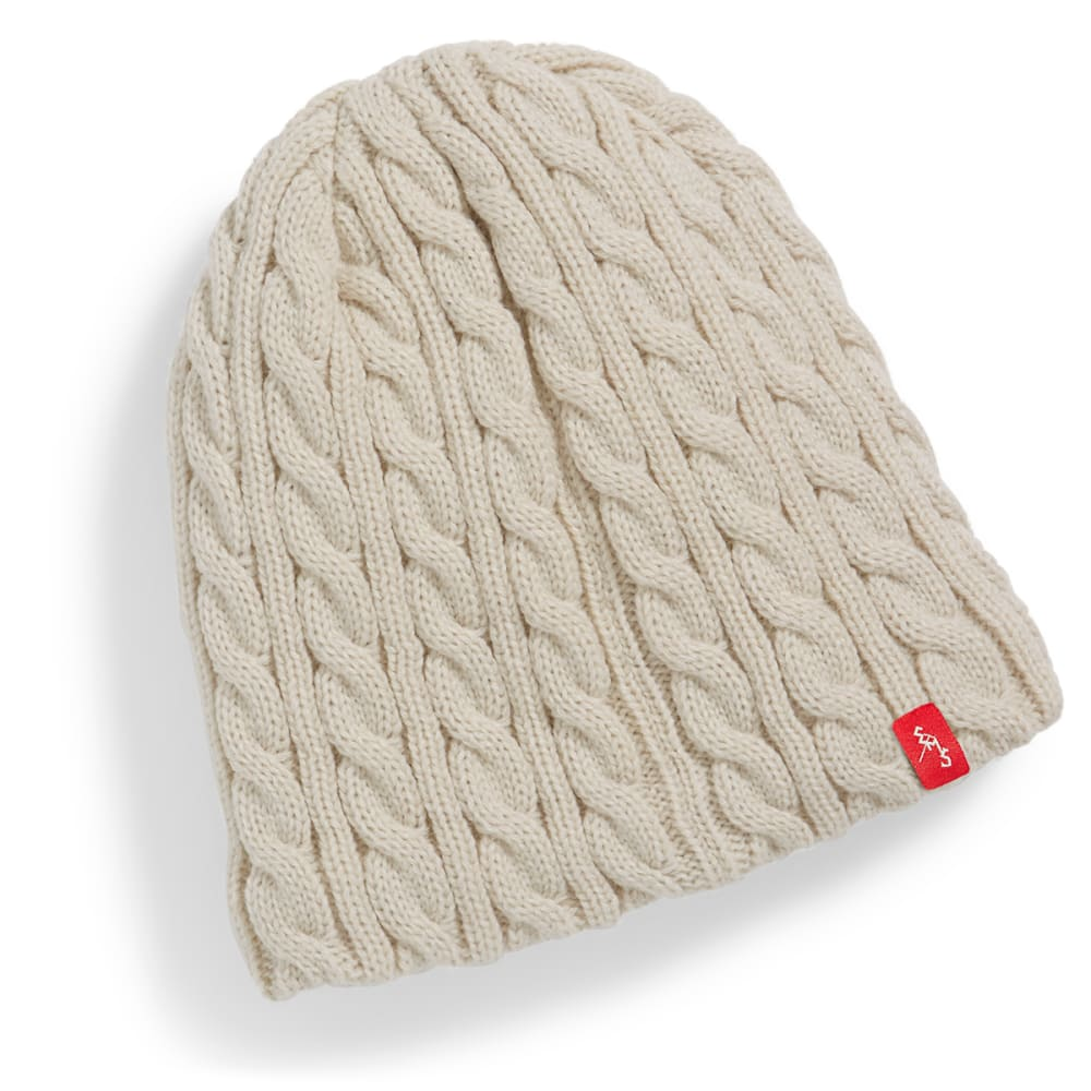 EMS® Cable Knit Beanie - TURTLE DOVE