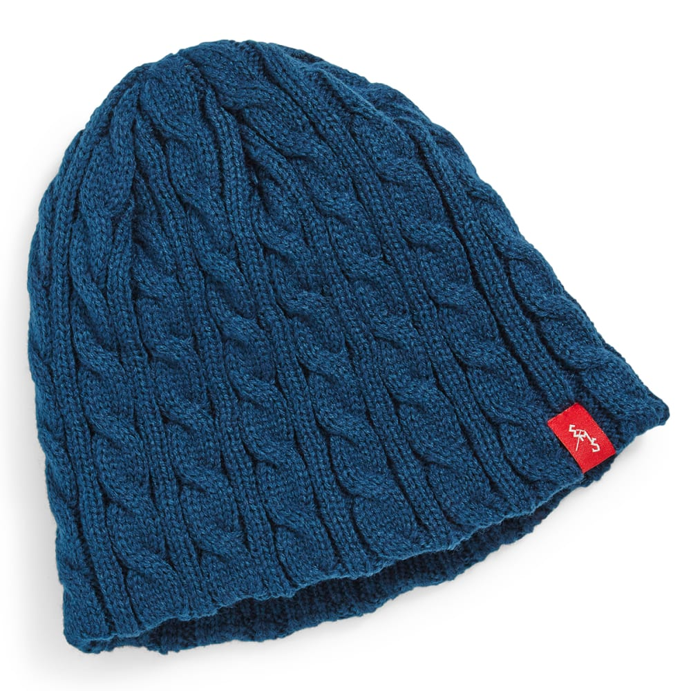 EMS® Cable Knit Beanie - REFLECTING POND