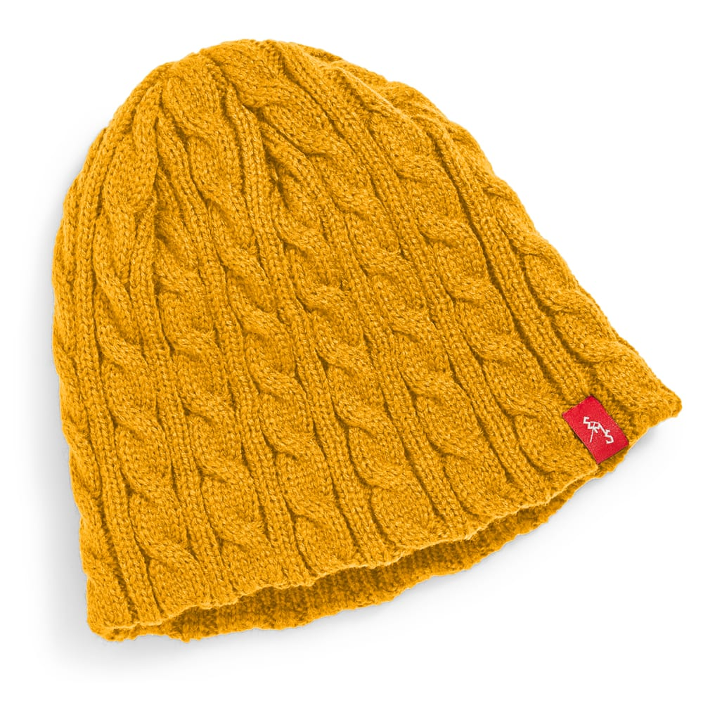 EMS® Cable Knit Beanie - CADMIUM YELLOW