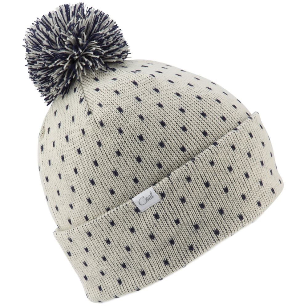 COAL Women's Dottie Beanie - CREME