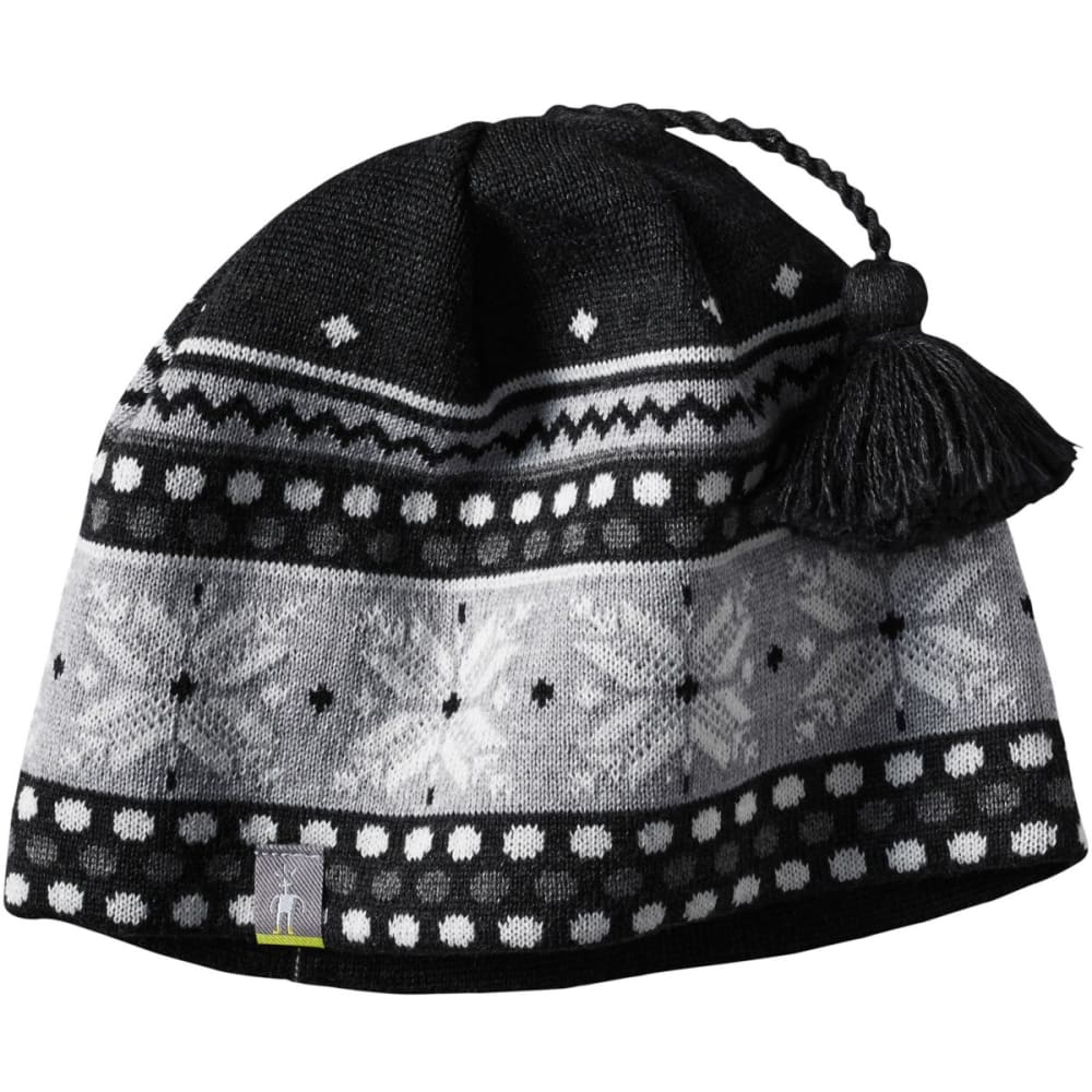 SMARTWOOL Women's Powder Day Hat - CHARCOAL HEATHER