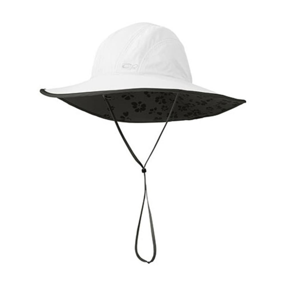 OUTDOOR RESEARCH Women's Oasis Sombrero Sun Hat - WHITE/DK GRY-0002