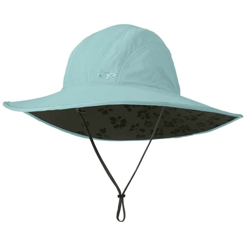 OUTDOOR RESEARCH Women's Oasis Sombrero Sun Hat - POOL/DK GRY-0761