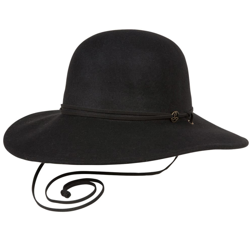 PRANA Women's Stevie Wool Hat - BLACK