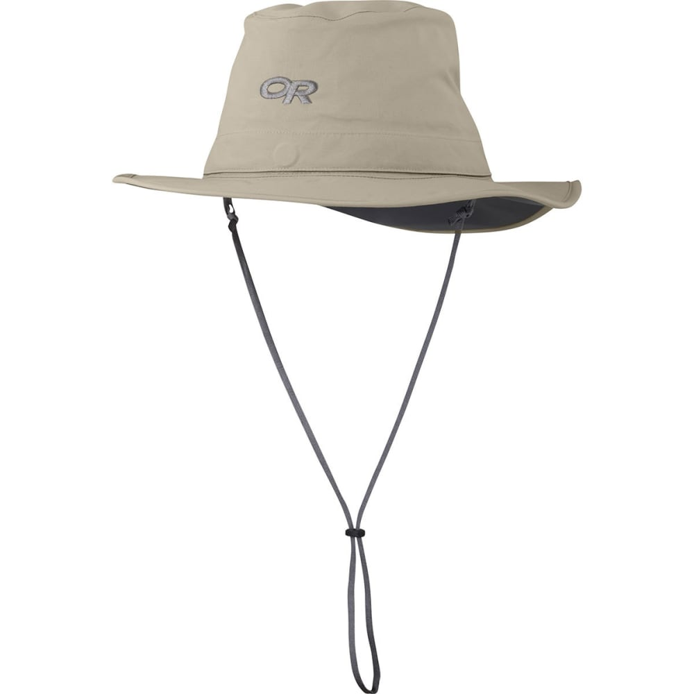 OUTDOOR RESEARCH Men's Convertible Ghost Rain Hat - KHAKI