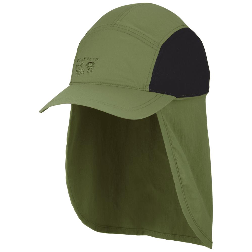 MOUNTAIN HARDWEAR Cooling Ravi Flap Cap - GREEN