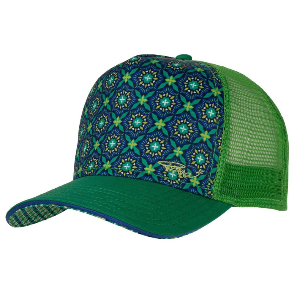 PRANA Women's La Viva Trucker Hat - PEACOCK