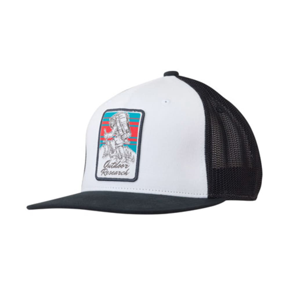 OUTDOOR RESEARCH Squatchin' Cap - WHITE/BLACK