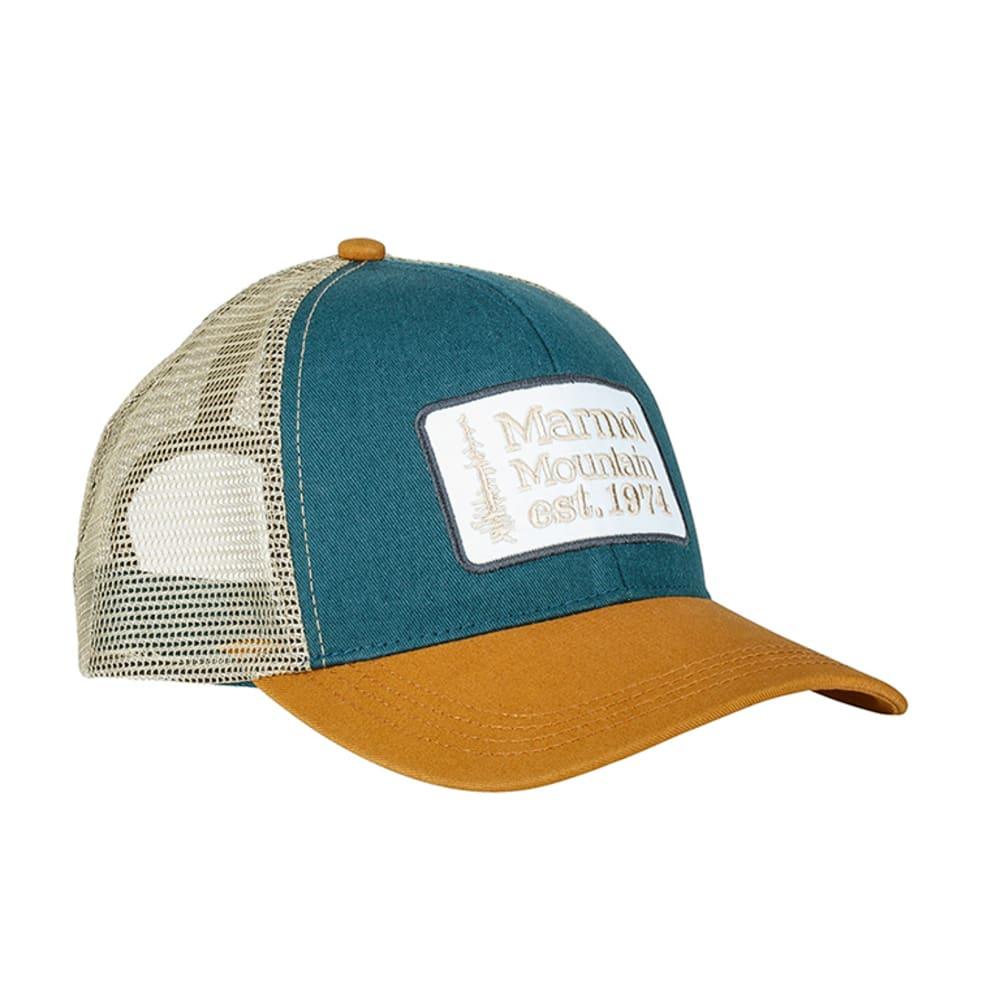 MARMOT Retro Trucker Hat - DEEP WATER BLUE