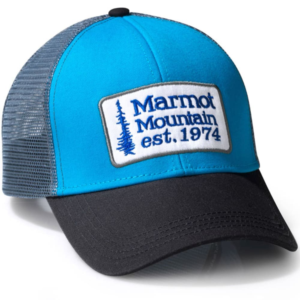 MARMOT Retro Trucker Hat - DEEP WATER BLUE