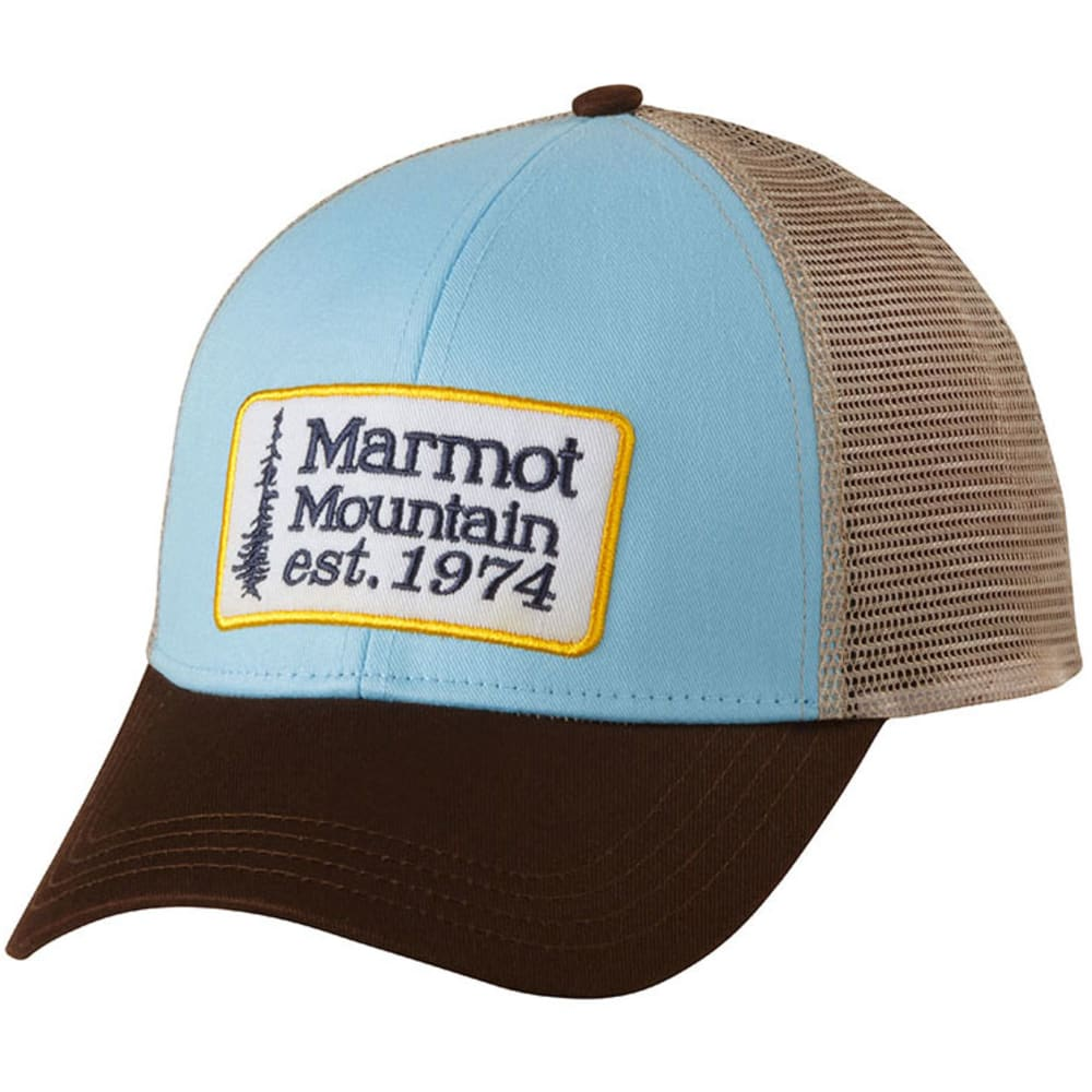 MARMOT Retro Trucker Hat - BLUE