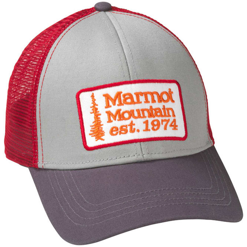 MARMOT Retro Trucker Hat - TEAM RED