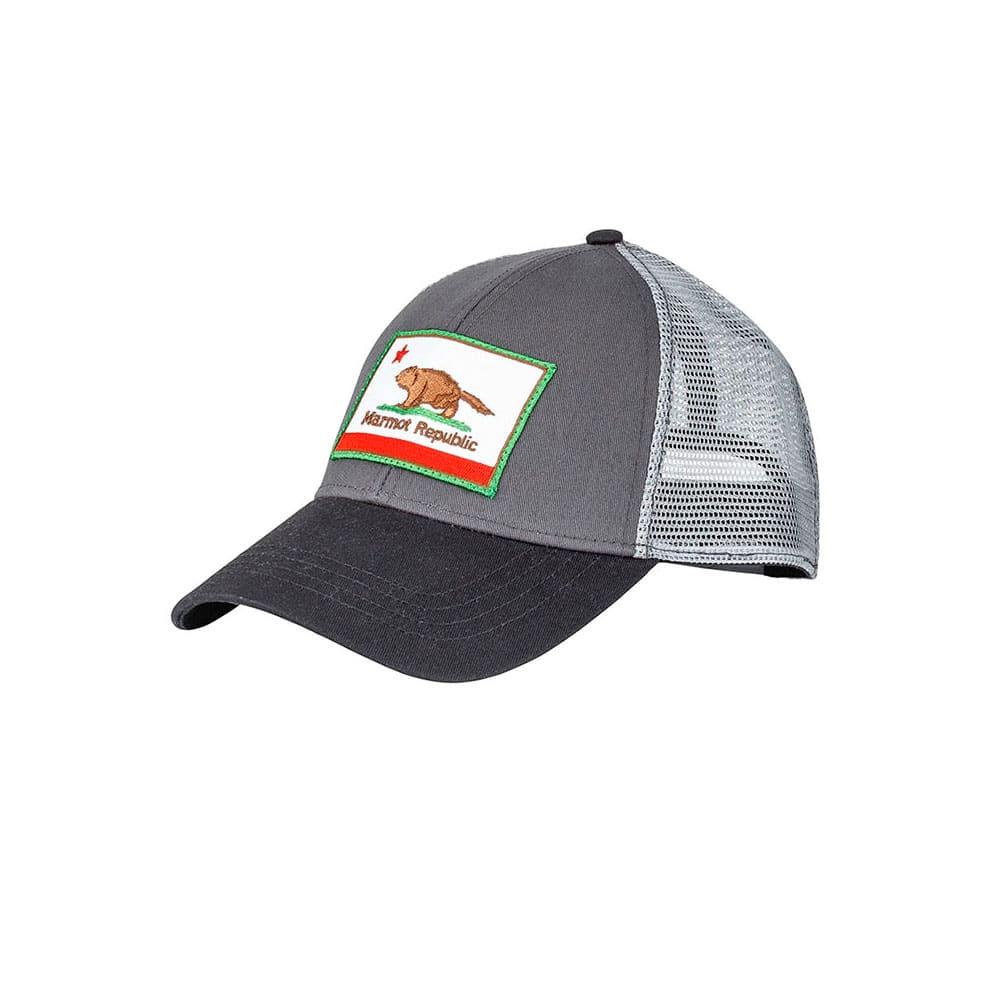 MARMOT Men's Marmot Republic Trucker Hat - SLATE GREY