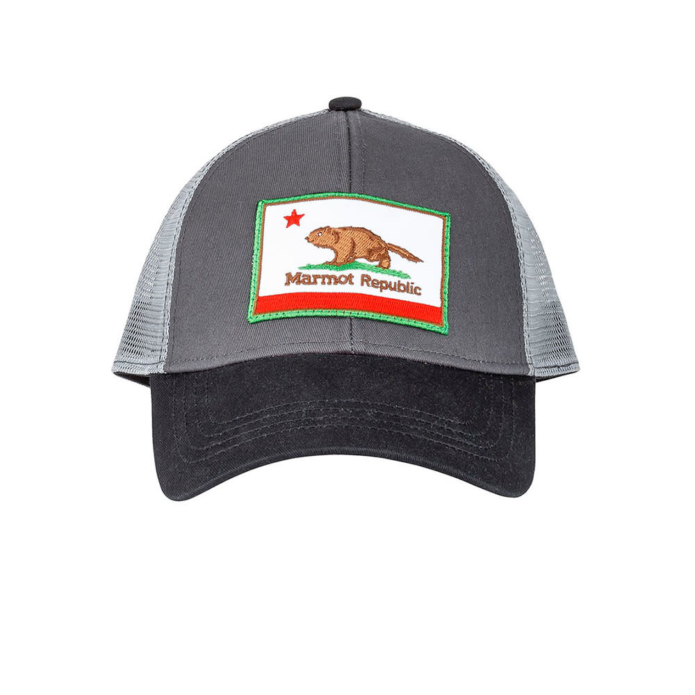 MARMOT Men's Marmot Republic Trucker Hat - SLATE GREY