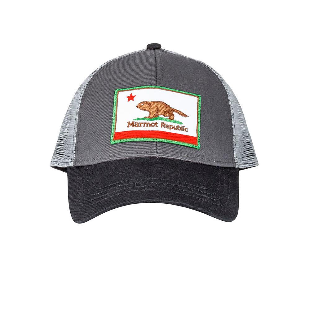 08764ef7627 MARMOT Men  39 s Marmot Republic Trucker Hat - SLATE GREY
