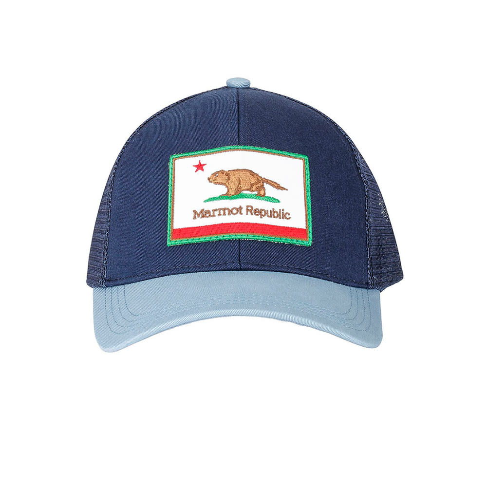 MARMOT Men's Marmot Republic Trucker Hat - MIDNIGHT NAVY