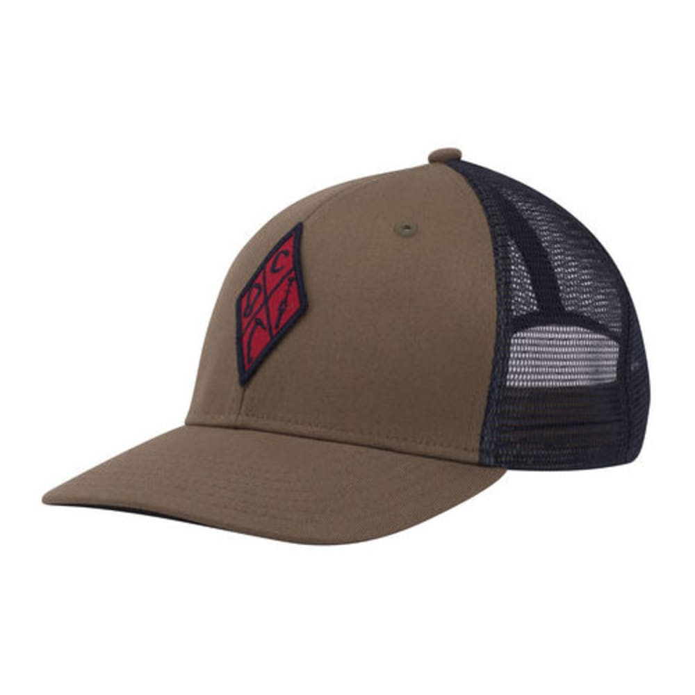 BLACK DIAMOND Men's Trucker Hat - BURNT OLIVE