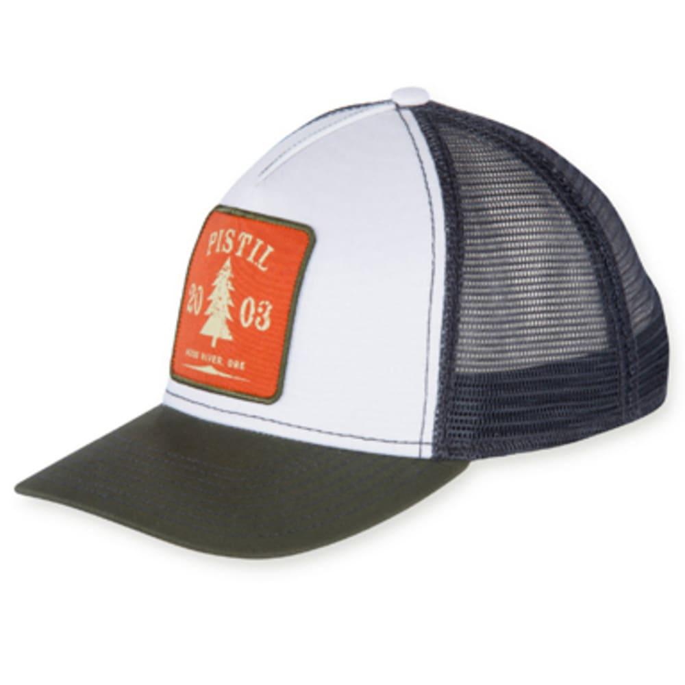 PISTIL Men's Burnside Trucker Hat - OLIVE-OLV