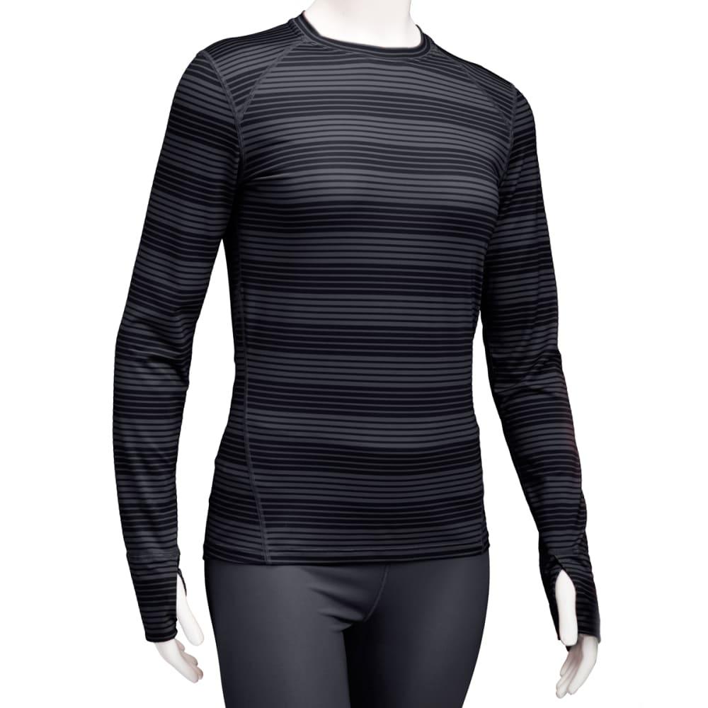 EMS® Women's Techwick® Lightweight Long-Sleeve Crew Baselayer - JET BLACK